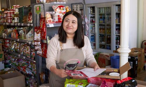 'Now we're not scared of trying something new': the specialist food store that kept its customers by adapting online