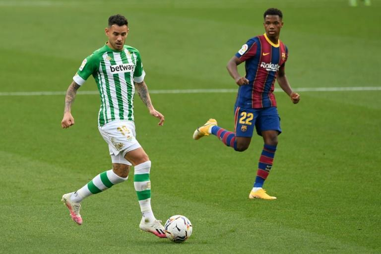 Ansu Fati could be facing a long lay-off after tearing his meniscus during Barcelona's win over Real Betis