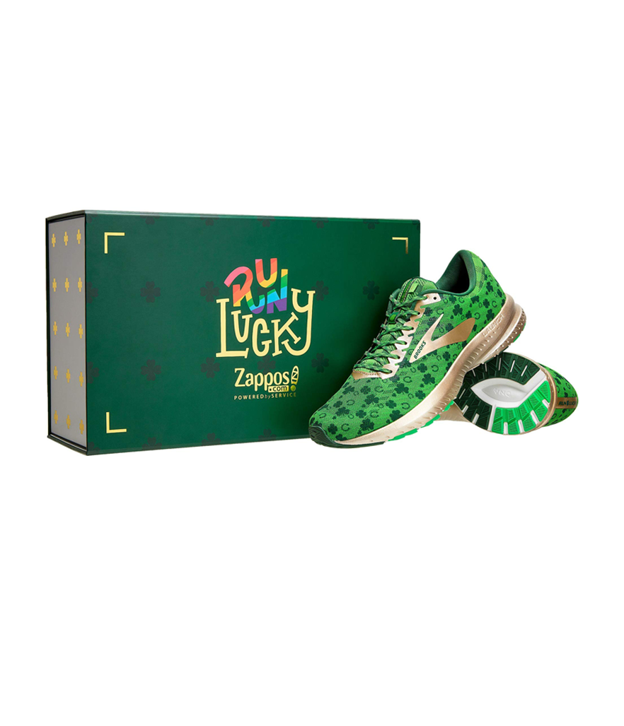Brooks Launch 6 St. Patrick's Day (Photo: Zappos)