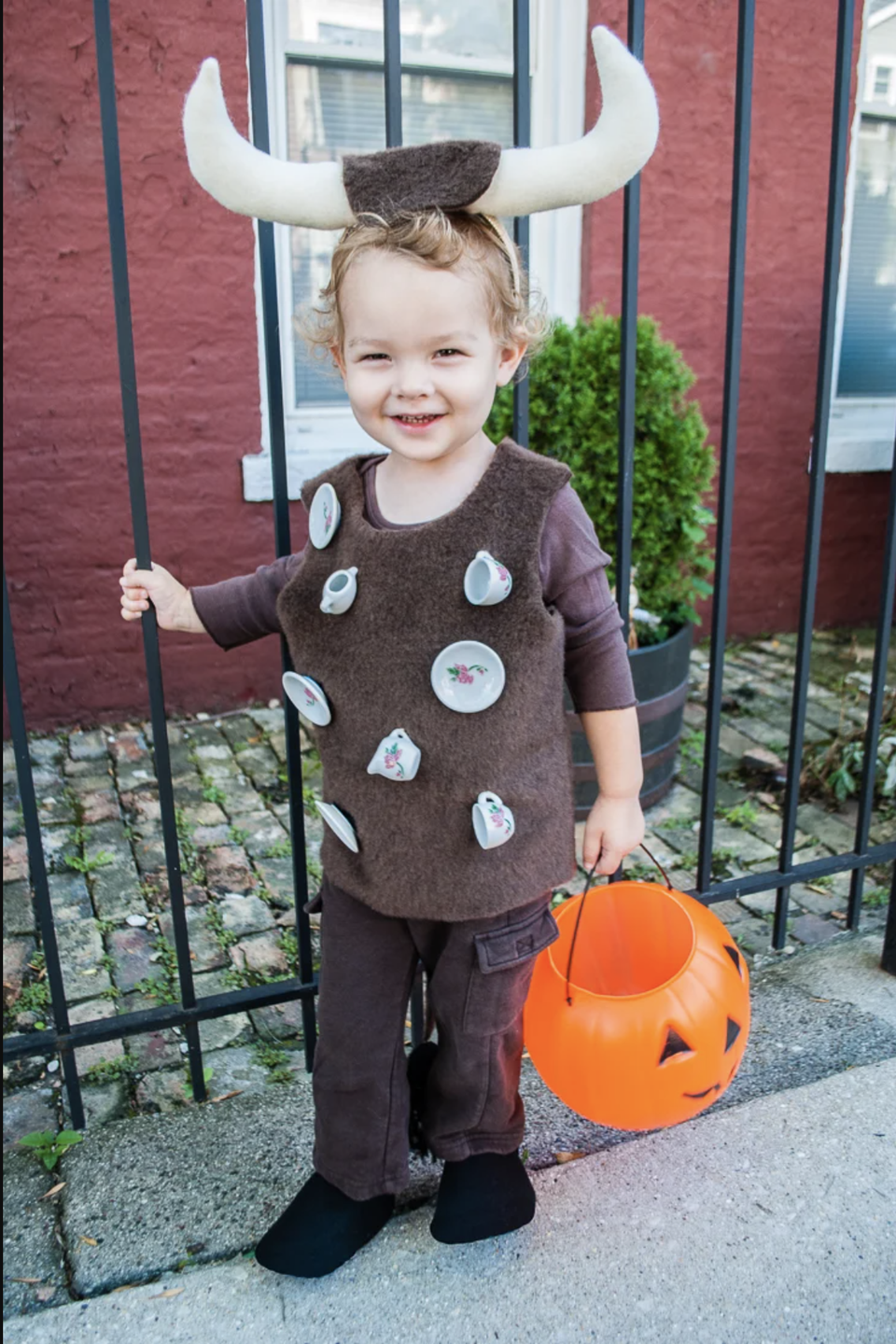 "<p>This might be the cutest costume on our list — and if you have a toddler, you know that it's accurate.</p><p><em><a href=""https://www.merrimentdesign.com/easy-diy-halloween-costume-for-toddlers-bull-in-a-china-shop.php"" rel=""nofollow noopener"" target=""_blank"" data-ylk=""slk:See more at Merriment Design »"" class=""link rapid-noclick-resp"">See more at Merriment Design »</a></em></p><p><strong>RELATED:</strong> <a href=""https://www.goodhousekeeping.com/holidays/halloween-ideas/g21729416/toddler-halloween-costumes/"" rel=""nofollow noopener"" target=""_blank"" data-ylk=""slk:20 Unique Toddler Halloween Costumes That Are Too Stinkin' Cute"" class=""link rapid-noclick-resp"">20 Unique Toddler Halloween Costumes That Are Too Stinkin' Cute</a></p>"
