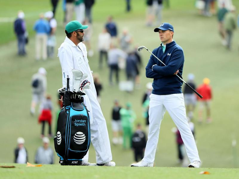 Spieth endured a frustrating first round (Getty)