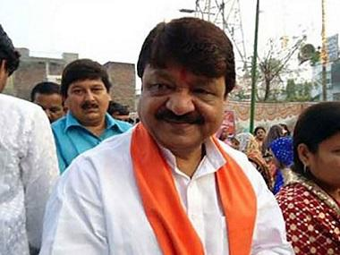 Kailash Vijayvargiya says suspicious of workers' nationality because of 'strange' eating habits; Opposition says comments reflect BJP's racist, communal mindset