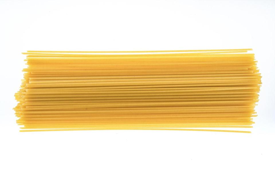 <p><strong>Category: </strong>Strand pasta<br><strong>Pronunciation: </strong>Spah-geh-tee<br><strong>Literal meaning: </strong>Little twine<br><strong>Typical pasta cooking time: </strong>8-12 minutes</p>