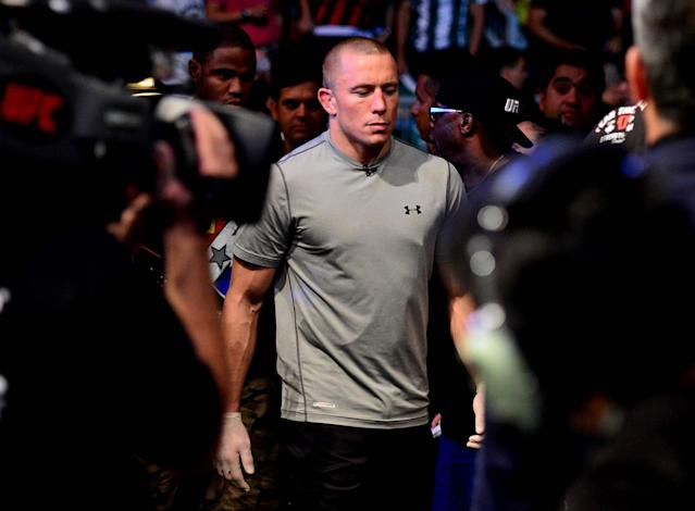 Georges St. Pierre to undergo knee surgery next week