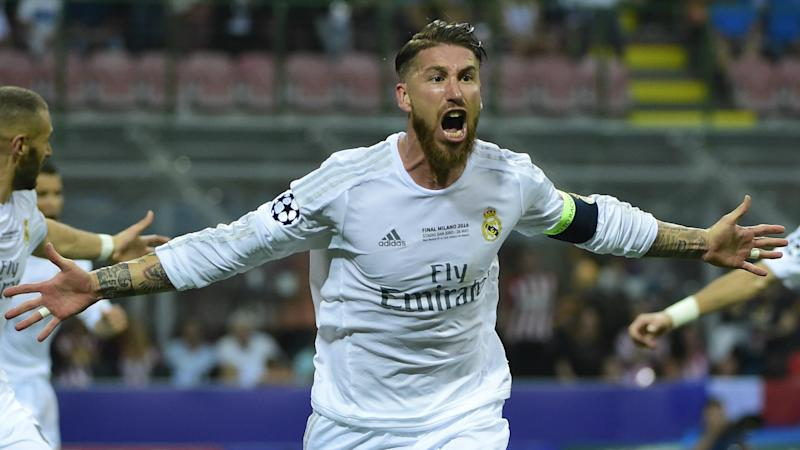 UCL FINAL REAL MADRID ATLETICO SERGIO RAMOS 28052016