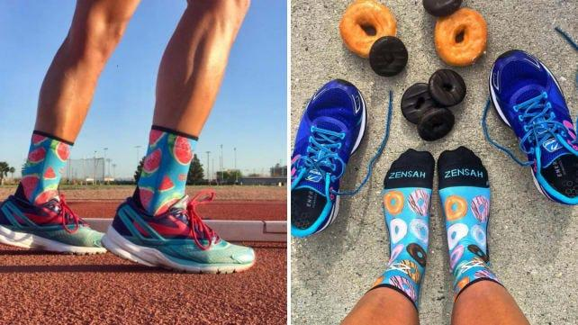 Best health and fitness gifts 2019: Zensah running socks