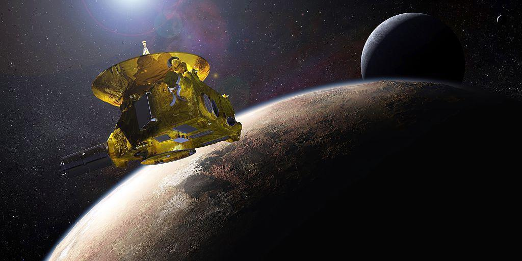 The spacecraft spotted UV light scattered across the farthest reaches of the solar system.