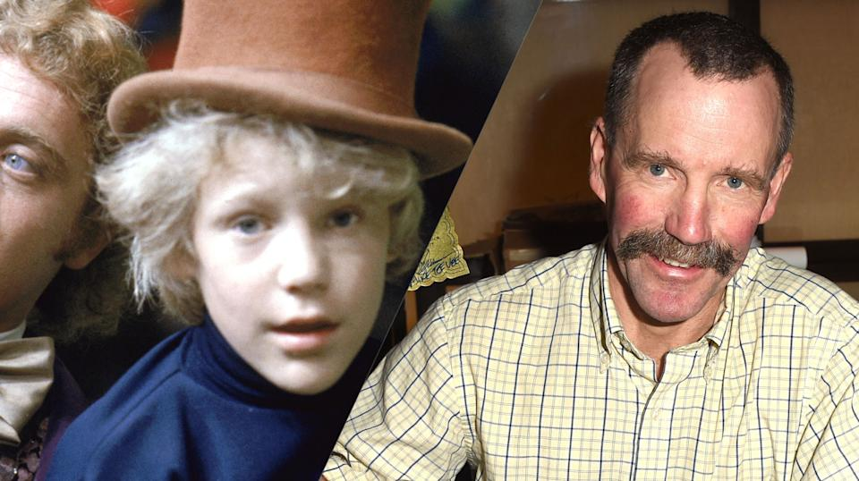 Peter Ostrum then and now (credit: Paramount)