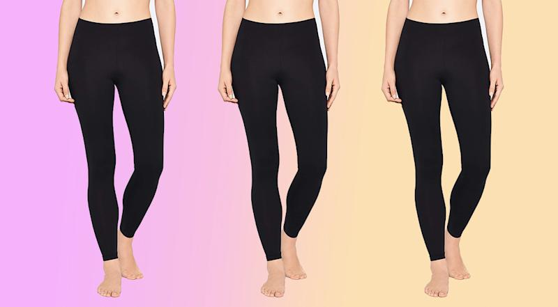 Iris & Lilly Women's Soft Touch Leggings (Photo: Amazon)