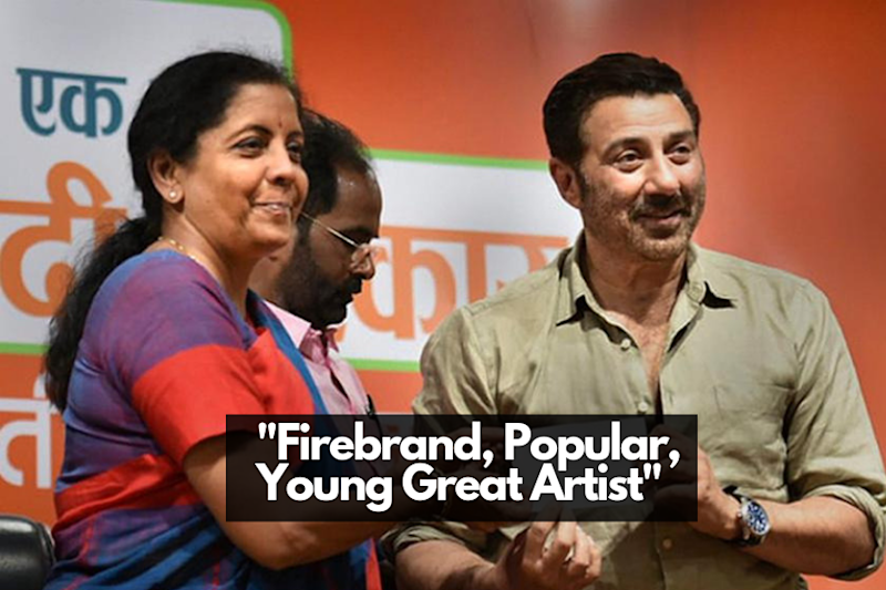 Nirmala Sitharaman Called 62-Year-Old Sunny Deol 'Young'. Not Far From Bollywood's Ageism Problem.