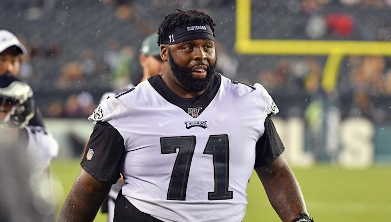 Eagles players react to Jason Peters returning with new position in 2020