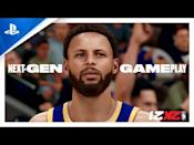 """<p><strong>PS5 Release Date: November 12 (launch title)<br></strong><a class=""""link rapid-noclick-resp"""" href=""""https://www.amazon.com/NBA-2K21-PlayStation-5-Standard/dp/B08D7DKLPC?tag=syn-yahoo-20&ascsubtag=%5Bartid%7C10054.g.32711498%5Bsrc%7Cyahoo-us"""" rel=""""nofollow noopener"""" target=""""_blank"""" data-ylk=""""slk:Buy"""">Buy</a></p><p>For all of you missing the dearly departed days of the NBA Bubble: <em>NBA 2K21</em> will more than scratch your itch to jam and yam and slam. <em>2K21</em> has already been released on the PS4, but the next-gen version will supposedly be as wide-ranging as the difference between, you know, J.R. Smith and LeBron James. The souped-up <em>2K21</em> will see The Neighborhood level up to become The City, introduce a MyCareer mode for the WNBA, and implement the fancy graphics, of course. TBD whether or not we'll get a Disney World bubble arena as a playable venue. <em>—Brady """"Trickshot"""" Langmann</em><br></p><p><a href=""""https://youtu.be/RJ_bxl5DwkM"""" rel=""""nofollow noopener"""" target=""""_blank"""" data-ylk=""""slk:See the original post on Youtube"""" class=""""link rapid-noclick-resp"""">See the original post on Youtube</a></p>"""