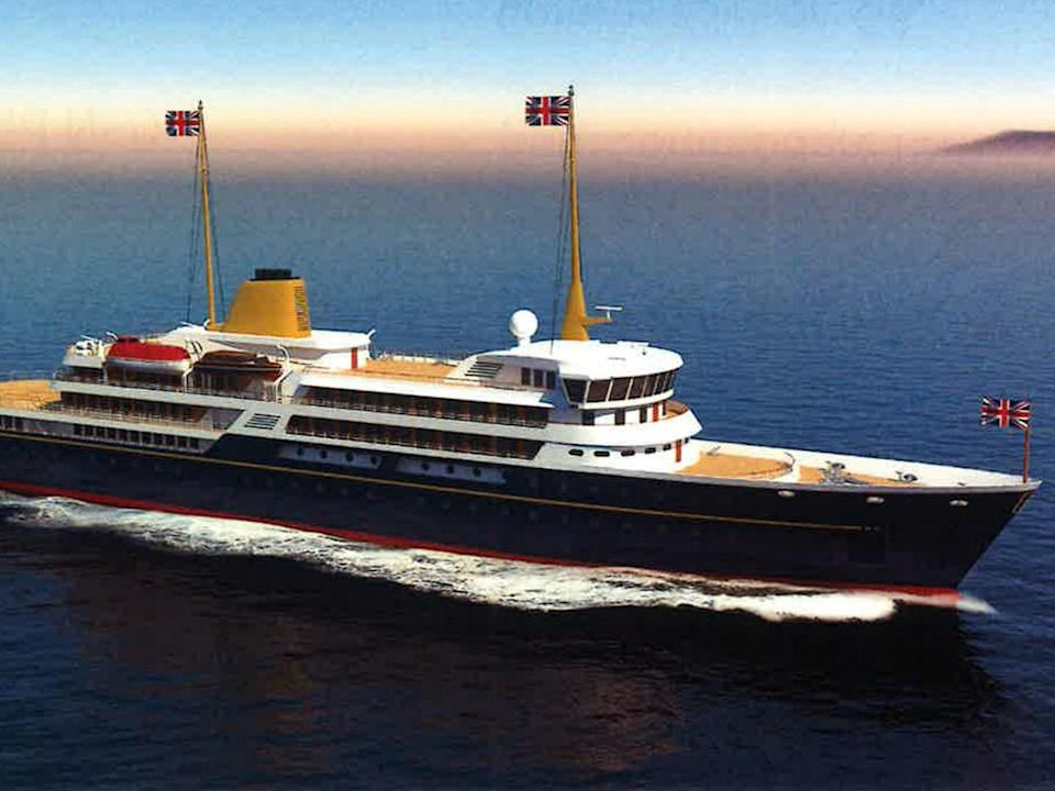 An artist's impression of the new flagship (PA)