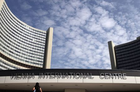 The Vienna International Centre, which houses the United Nations (U.N.) headquarters in the city and is a venue of the latest round of talks with Iran on its disputed nuclear programme, is pictured in Vienna July 2, 2014. REUTERS/Heinz-Peter Bader