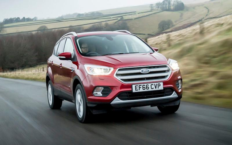 With so many rivals to choose from, the Kuga is a slightly niche choice - James Lipman