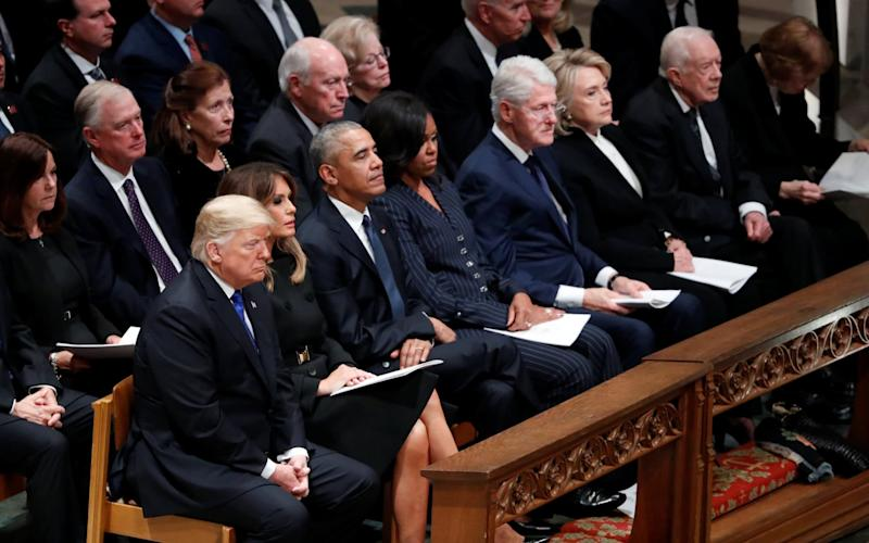 The atmosphere on the presidential bench appears frosty - REUTERS