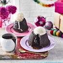"""<p>With a seasonal twist on salted caramel, these brandy butter fondants are a decadent treat.</p><p><strong>Recipe: <a href=""""https://www.goodhousekeeping.com/uk/food/recipes/a23739374/brandy-butter-chocolate-fondants/"""" rel=""""nofollow noopener"""" target=""""_blank"""" data-ylk=""""slk:Brandy Butter Caramel Chocolate Fondants"""" class=""""link rapid-noclick-resp"""">Brandy Butter Caramel Chocolate Fondants</a></strong></p>"""