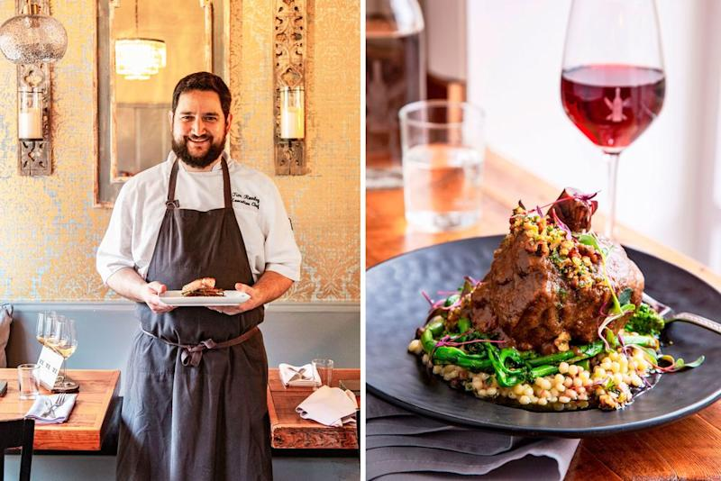 Executive chef Tim Rowley of The Wine Kitchen changes his menu seasonally. | Helen Norman