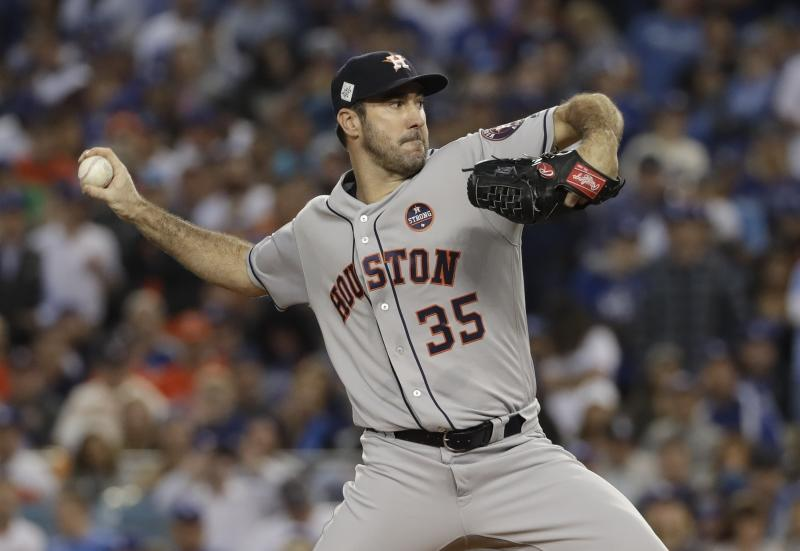 Justin Verlander was a major part of the Astros championship run. (AP)