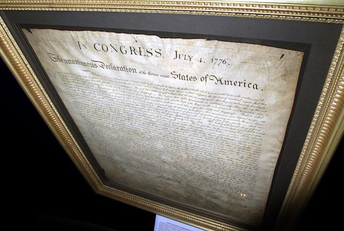 "The Declaration of Independence established our founding credo, that all are created equal. But as a nation, we have failed to live up to that, a message the anti-racism protests have driven home. <span class=""copyright"">(Los Angeles Times)</span>"