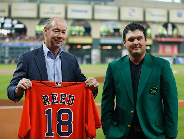 Patrick Reed visits the Astros.