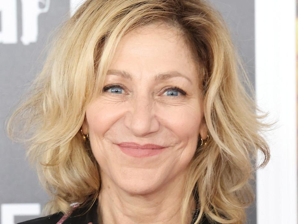 """Edie Falco at the 2021 premiere of """"The Many Saints of Newark."""""""