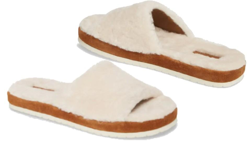 Vince Kalina Genuine Shearling Slipper - Nordstrom, $50 (originally $125)