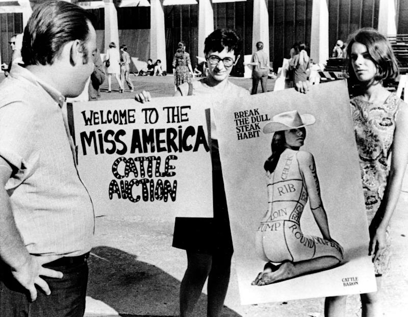 MISS AMERICA PAGEANT PROTEST
