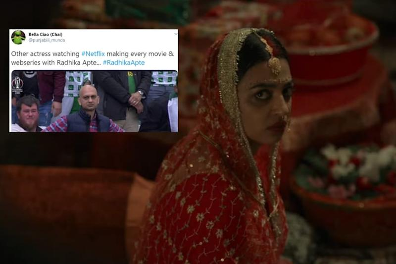 'Permanent Hoon Sir': Twitter Trolls Netflix's Obsession with Radhika Apte After New Trailer