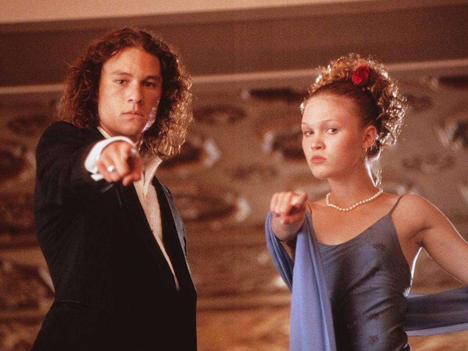 Stiles and Heath Ledger in '10 Things I Hate About You'Touchstone/Kobal/Shutterstock
