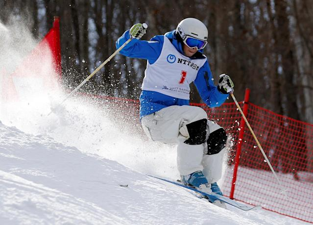 <p>Gold:$250,000 USD<br>Silver:$150,000 USD<br>Bronze:$75,000 USD<br>Two-time gold medalist Yuliya Galysheva picked up another medal in Pyeongchang, adding a bronze medal in women's moguls (and $250,000) to her collection.<br>(REUTERS/Kim Kyung-Hoon) </p>