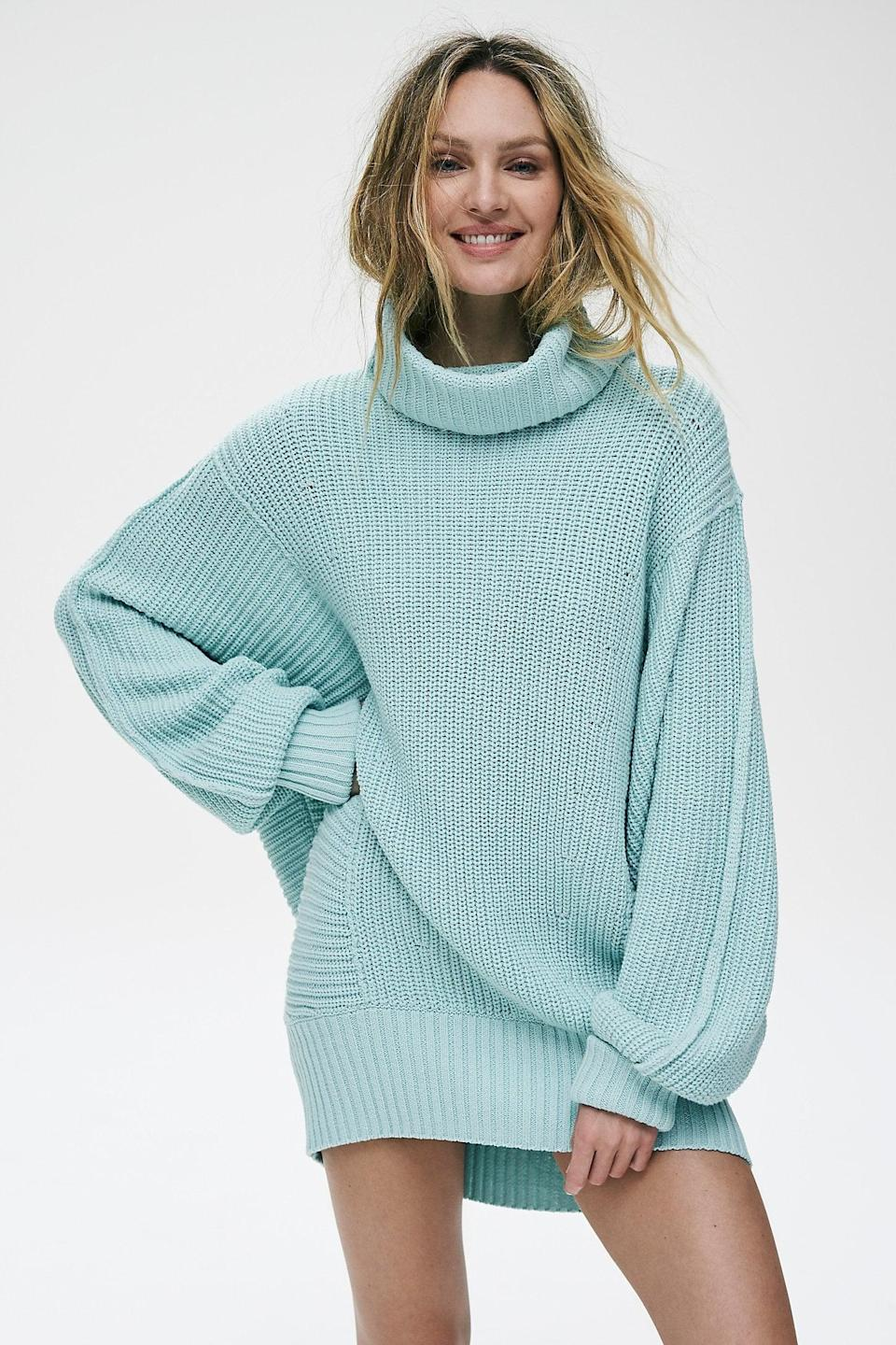 """<p>Get them this <a href=""""https://www.popsugar.com/buy/Cocoa-Sweater-527159?p_name=Cocoa%20Sweater&retailer=freepeople.com&pid=527159&price=148&evar1=fab%3Aus&evar9=45460327&evar98=https%3A%2F%2Fwww.popsugar.com%2Ffashion%2Fphoto-gallery%2F45460327%2Fimage%2F46978010%2FCocoa-Sweater&list1=shopping%2Cgifts%2Cfree%20people%2Choliday%2Cgift%20guide%2Cgifts%20for%20women&prop13=api&pdata=1"""" class=""""link rapid-noclick-resp"""" rel=""""nofollow noopener"""" target=""""_blank"""" data-ylk=""""slk:Cocoa Sweater"""">Cocoa Sweater</a> ($148) in their favorite color.</p>"""