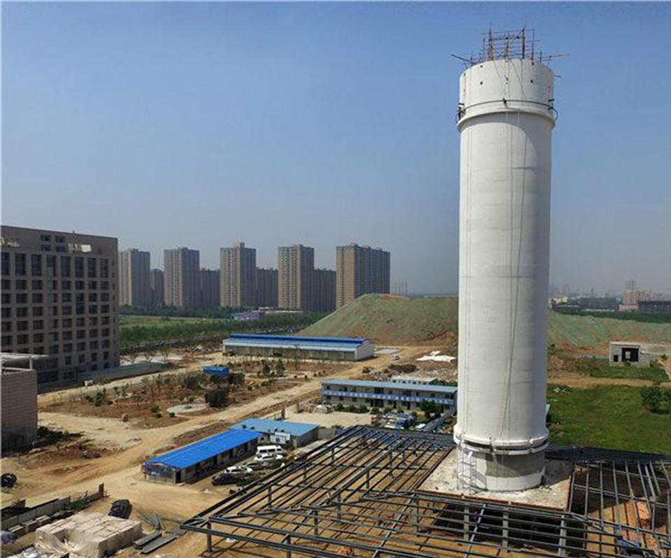 <em>Smog problem – China has built the world's largest air purifier to fight its smog problem (Pictures: AsiaWire)</em>