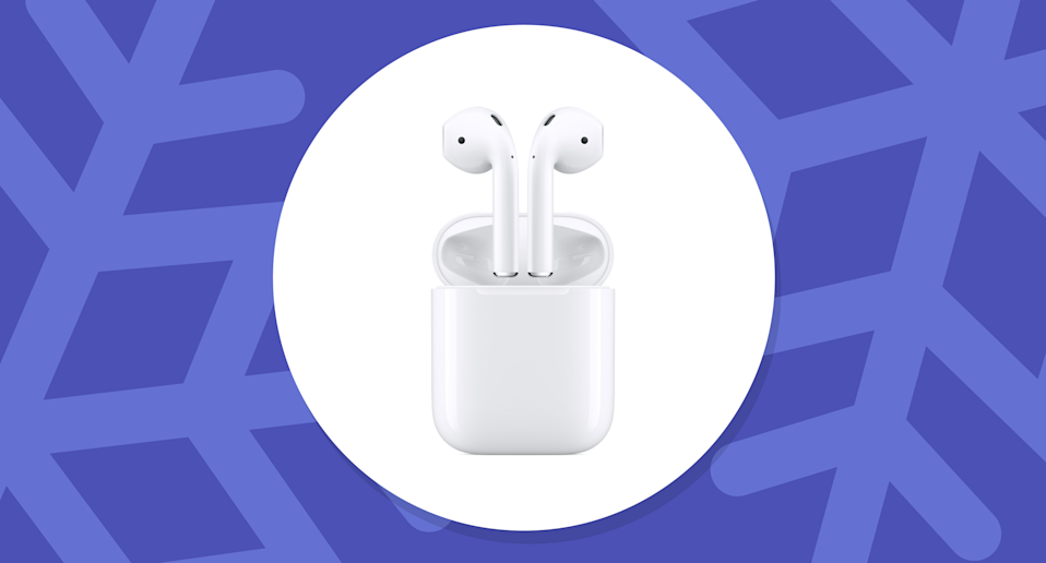 Now that AirPods Pro are out, Apple cut the price down on the previous model of the AirPods. (Photo: Walmart/Yahoo Lifestyle)