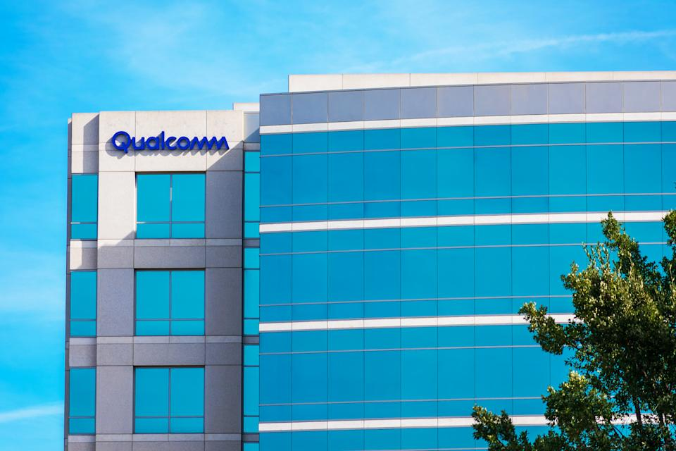 Qualcomm company office in Silicon Valley. Qualcomm Incorporated is an American multinational semiconductor and telecommunications equipment company - San Jose, CA, USA - 2020
