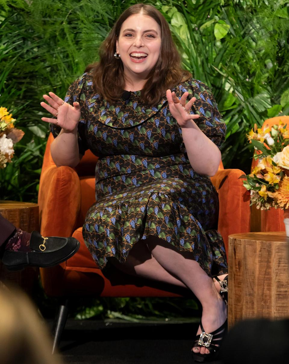 <p>Beanie Feldstein talks about taking on the role of Fanny Brice in 2022's revival of <em>Funny Girl</em> during <em>Variety</em>'s Legit!: The Return to Broadway event at Second on Oct. 12 in N.Y.C.</p>