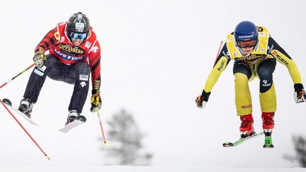 Canada's Kevin Drury extends overall World Cup ski cross lead with silver in Sweden