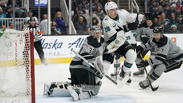 Here's how the Sharks are expected to lineup on Thursday evening when they face off against the Kings down in LA.