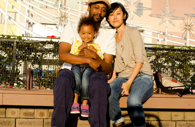 Me, my wife, Haruki, and daughter, Kantra.