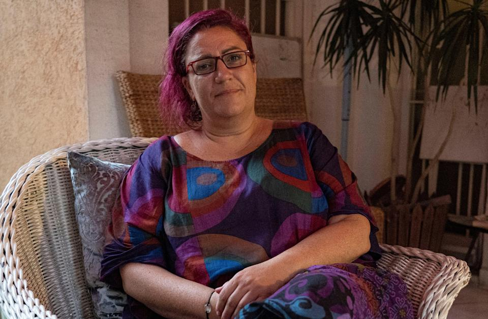 Carmen al-Khoury needs dialysis due to her blast injuries, but the treatment is not available to her in Beirut (Bel Trew)