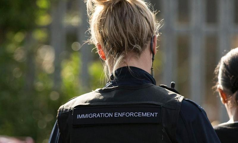 Immigration enforcement officer