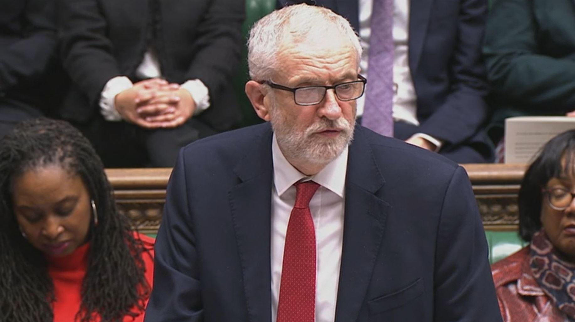 Labour leader Jeremy Corbyn during the debate on the House of Commons, London, on the Queen's Speech. (Photo by House of Commons/PA Images via Getty Images)