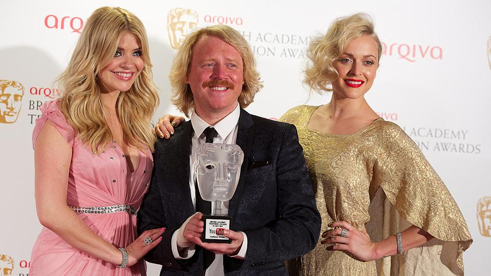 Keith Lemon (seen here at the 2012 BAFTA TV awards) said he would lie about his co-stars if they didn't turn up to award ceremonies