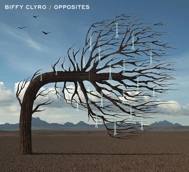 """This publicity CD cover image released by Warner Bros. Records shows """"Opposites"""" by Biffy Clyro. (AP Photo/Warner Bros. Records)"""