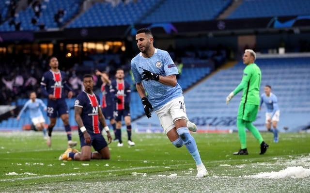 City stunned PSG in last year's semi-finals