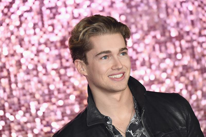 AJ Pritchard attends the World Premiere of 'Bohemian Rhapsody' at SSE Arena Wembley on October 23, 2018 in London, England. (Photo by Jeff Spicer/Jeff Spicer/Getty Images for Twentieth Century Fox )