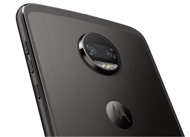The Moto Z2 Force lets you capture more light in dim settings thanks to its dual-lens setup.