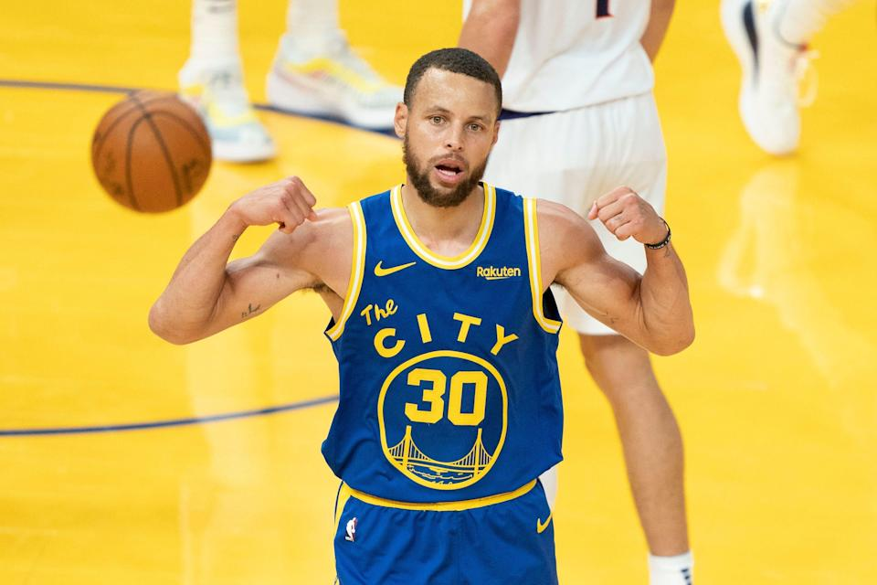 Last month, Steph Curry topped James Harden for the NBA's record for most 3's in a calendar month (96).