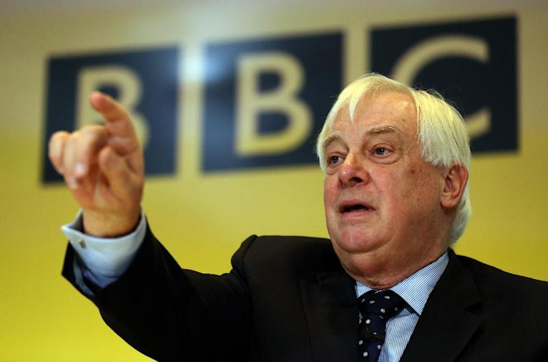 """CORRECTS SPELLING OF SECOND NAME  BBC Trust Chairman Lord Patten speaks during a press conference in response to  The Pollard Report at New Broadcasting House, Portland Place, London  Wednesday Dec. 19, 2012. Institutional chaos and confusion, but not a cover-up, were to blame for the BBC's disastrous handling of pedophilia allegations involving one of its best-known children's television personalities, an internal review found Wednesday. The review, carried out by former Sky News boss Nick Pollard, absolved BBC executives of trying to bury a potentially embarrassing story, saying that weak management and poor leadership were to blame for the fact that a planned expose about the late TV star, Jimmy Savile, never aired on the flagship """"Newsnight"""" program. (AP Photo/Chris Radburn/Pool)"""