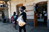 Authorities banned street hawkers a year ago as part of a raft of measures to limit the spread of Covid-19